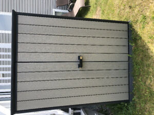 Keter high storage garden shed