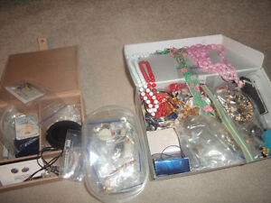 assorted fashion jewellery, some never worn, .50 cents & up