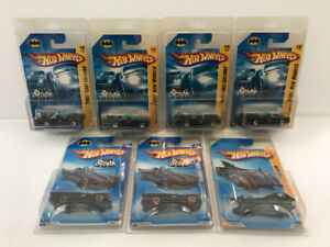 4 HW 2007 BATMOBILE 1ST EDITIONS  PLUS 2 FASTER THAN EVER