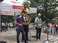 High Energy New Orleans Jazz Band Available October 5-7