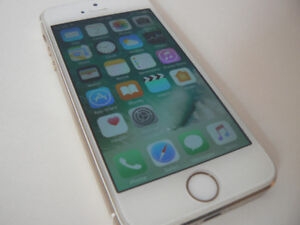 iphone 5s 16gb Gold Good condition FACTORY UNLOCKED
