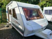 Cristall Sprint 390TK 2004 Lightweight 4 Berth Touring Caravan