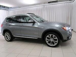2017 BMW X3 28i xDRIVE AWD TURBO LUXURY SUV w/ HEATED SEATS, N