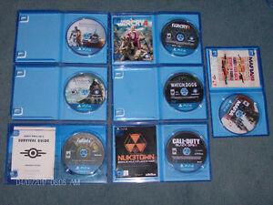 Assorted PlayStation 4 Games