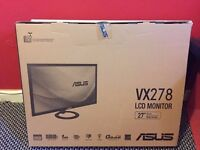 2x Asus VX278H 27in 1080p ***BRAND NEW SEALED***