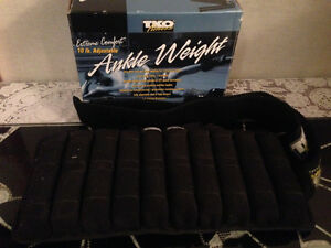 TKO 10lb Adjustable Ankle Weight Rehab