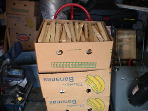 Banana Boxes of Softwood Kindling  3 Boxes for $20