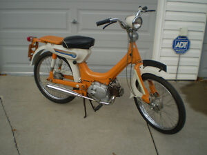 1970 HONDA PC50 MOPED FOR THE ENTHUSIAST/ COLLECTOR.