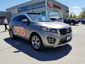 2018 Kia Sorento SX-TURBO | Demo | Loaded | Low KM