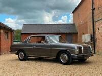 1971 Mercedes-Benz 250 CE Automatic W114. Stunning Car. U.K Supplied.