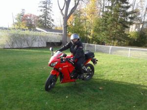 HONDA CBR300R ABS 2015 garantie prolongée 2019