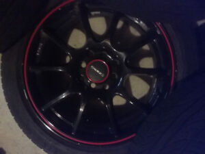 Winter/ summer tires and rims