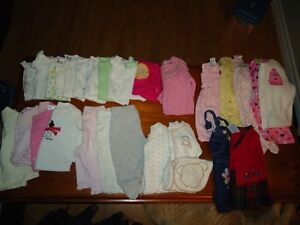 Girl clothes size 3-6 months