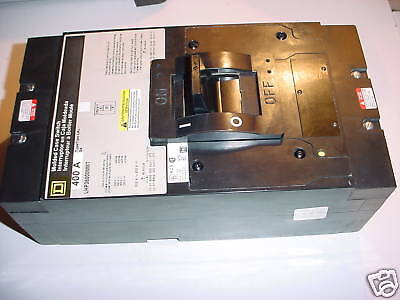 Sq-d 400 Amp 3 Pole Lhp36400mmt Circuit Breaker New