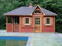 Pool Houses and Decks