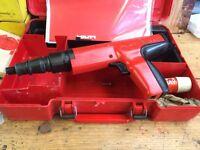 DX350 Hilti nail gun