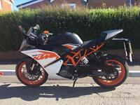 2016 KTM RC 125 £3,500, FLEXIBLE FINANCE