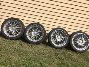 17 inch chrome rims 5x100