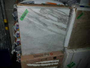18x18 castle grey floor/wall tile glazed porcelain