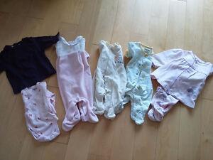 Lot vêtements fille 0 mois
