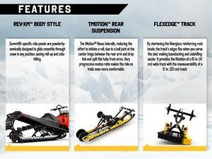 2016 Ski-Doo Renegade Backcountry Rotax 800R E-TEC Black/Race Or Regina Regina Area image 3