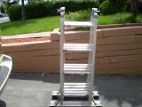 FEATHERLITE  ladder 16ft /echele 16 pi