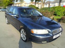 VOLVO V70 2.4D 2006 SE COMPLETE WITH M.O.T HPI CLEAR INC WARRANTY