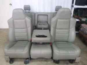 Ford F250 2008 Grey Leather Power Heated Seats