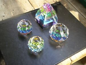 Swarovski Crystal Colored Paper Weights Kitchener / Waterloo Kitchener Area image 3