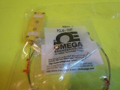 New Omega Thermocouple Type K Mini Connector Kmqss-020u-33