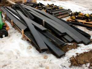 """Qty of 6"""" x 1.5"""" x 20' Rubber Flooring -  Ideal for Trailers"""