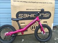 Islabike Rothan balance bike pink