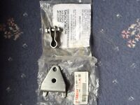 Outboard steering bracket and clevis kit.