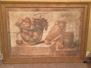 Vessel with Fruit Fresco Reproduction London Ontario image 1