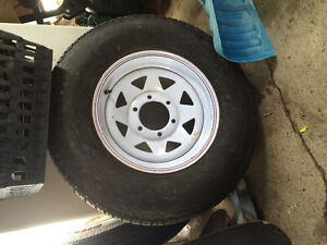 Trailer Tires and Rims WANTED