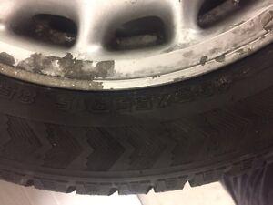 Need gone! 195/55/R15   Set of winter tires on wheels Cambridge Kitchener Area image 4