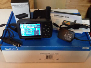 Garmin 296 GPS with Accessories