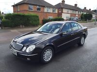 2003 Mercedes Benz E270 cdi (Black) 2 previous owners Full service history 2 keys mot July 2017