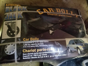 Car Dolly-Brand New in Box- Brand is Black Jack- $75