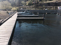 24 ft Boat Slip for rent in Peachland Pentowna Marina