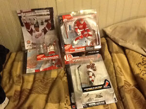 Numerous McFarlane NHL Action Figures ! For most every NHL team