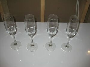 Champagne Glasses - Set of 4 - $5.00 obo