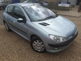 2003 '03' Peugeot 206 1.1 LX. Petrol. Manual. 5 Door. Learner / 1st Car. Px Swap