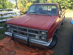 1984 gmc Sierra (propane)