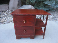 Antique Handcrafted Solid Wood Cabinet