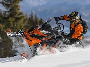 2016 Ski-Doo Renegade Backcountry Rotax 800R E-TEC Black/Race Or