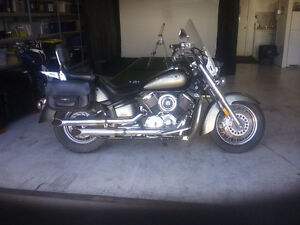 Low mileage used motorcycle