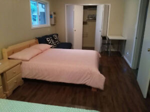 A furnished room is available now in Penticton