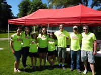 High Energy Volunteers for Back to School Carnival!!