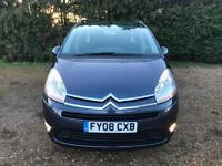 2008 Citroen Grand C4 Picasso 1.6HDi 16v EGS VTR+-2 F Keepers-7 Seats- New Turbo